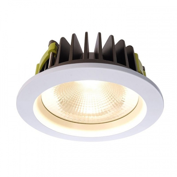 Led downlighter rond