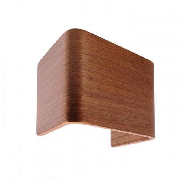 Wandlamp hout
