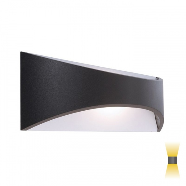 gevel lamp indirect en direct licht