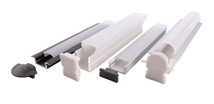 AtexLicht aluminium led profielen en covers