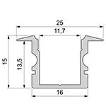 Inbouw profiel 5