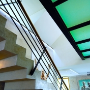 AtexLicht ledstrip glas plafond