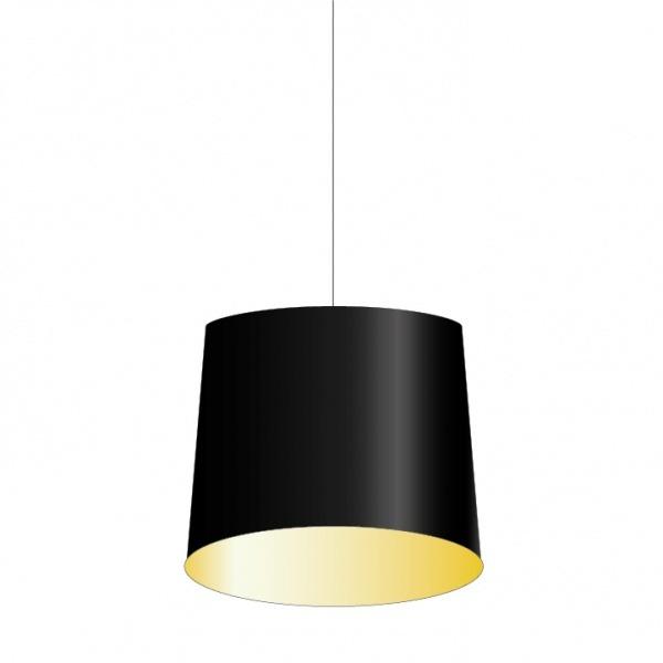 KapAtelier lampenkap rond tabs