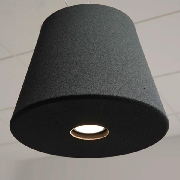 Akoestische hanglamp